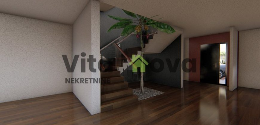 VINJERAC, 200 m2, s grijanim bazenom, luksuzno, novogradnja!